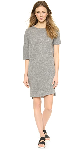 Oak Drop Shoulder Tee Dress