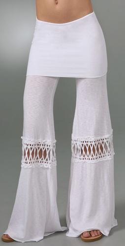 Nightcap Clothing Fold Over Beach Pants