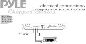 Amazon : Pyle PLA2220 2 Channel 2400 Watt Bridgeable