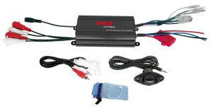 Amazon: Pyle PLMRMP3B 4 Channel 800 Watt Waterproof