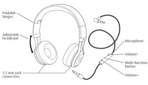 Amazon: Jabra REVO Corded Stereo Headphones  Retail