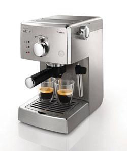 philipssaeco poemia class img1 - Philips Saeco HD8327/47 Poemia Top Espresso Machine, Stainless Steel