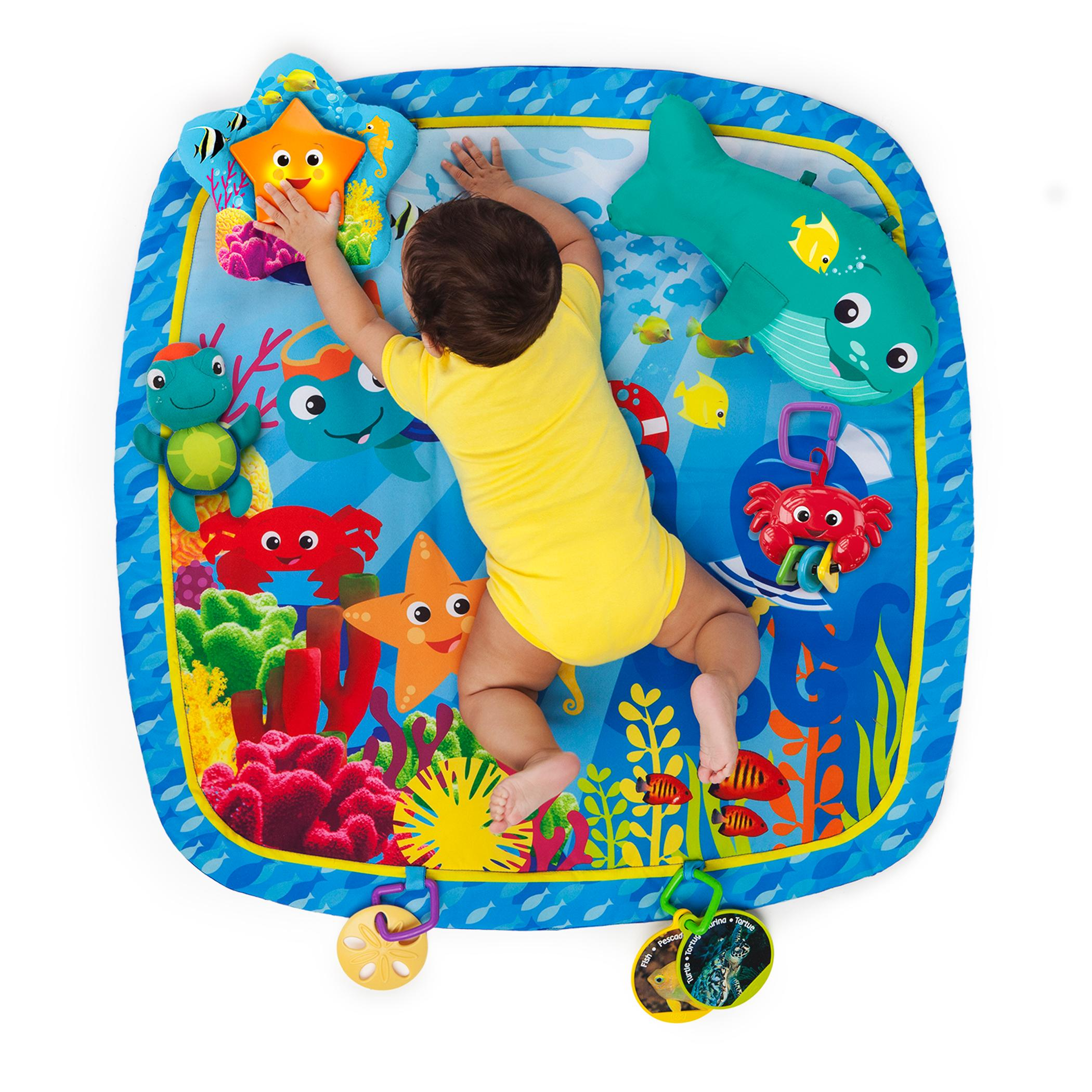 New Multi Color Play Gym Nautical Friends W 6 Additional Toys By Baby Einstein