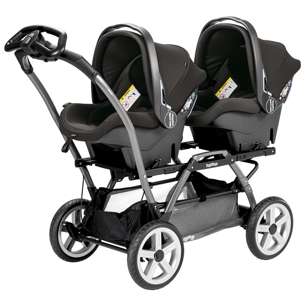 Peg Perego Duette SW Stroller Chassis Grey