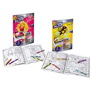 crayola action combo set and
