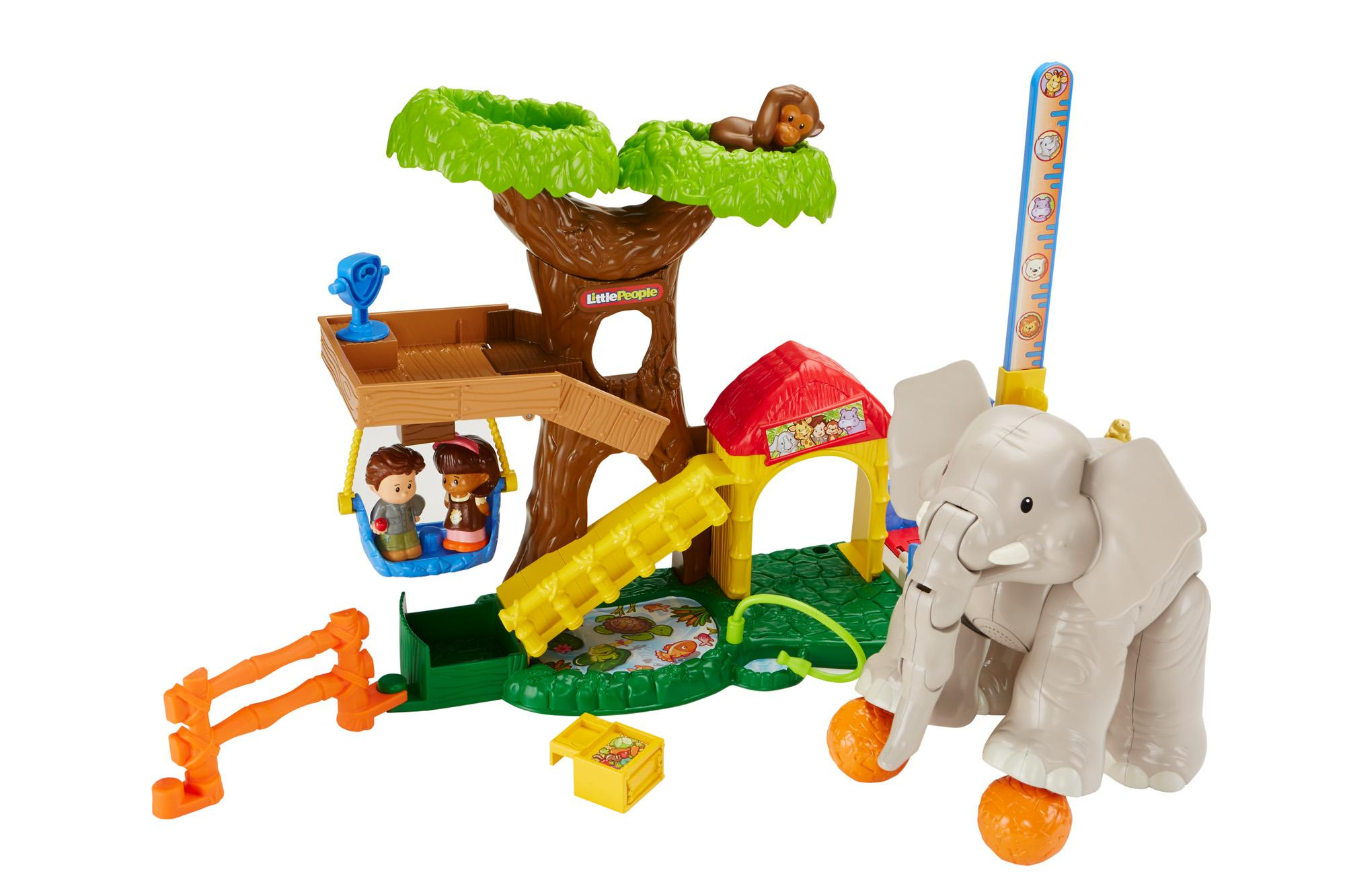 Amazon Fisher Price Little People Big Animal Zoo