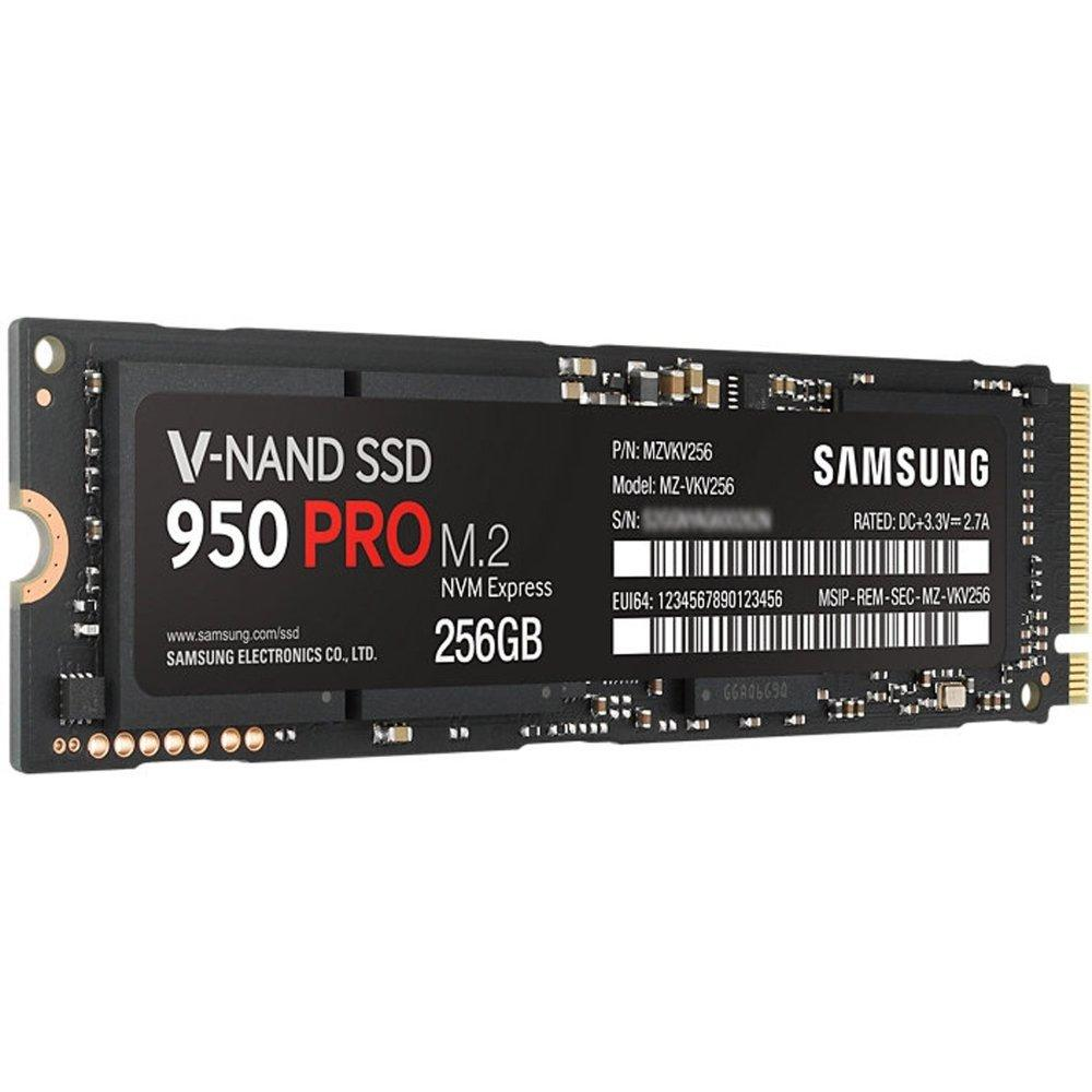 Image result for samsung 950 pro series - 256gb pcie nvme