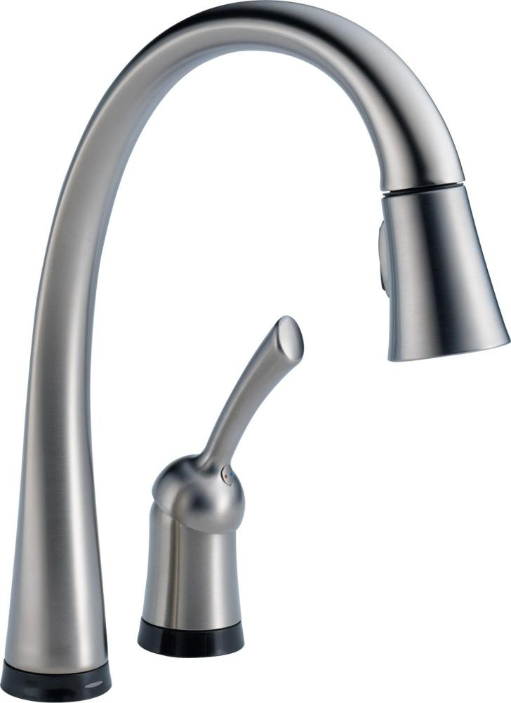 Kitchen Faucet Touch2o Technology Chrome Touch Sink