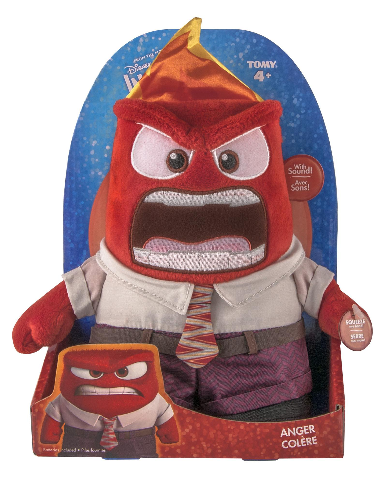 Amazon Inside Out Talking Plush Anger Toys Amp Games
