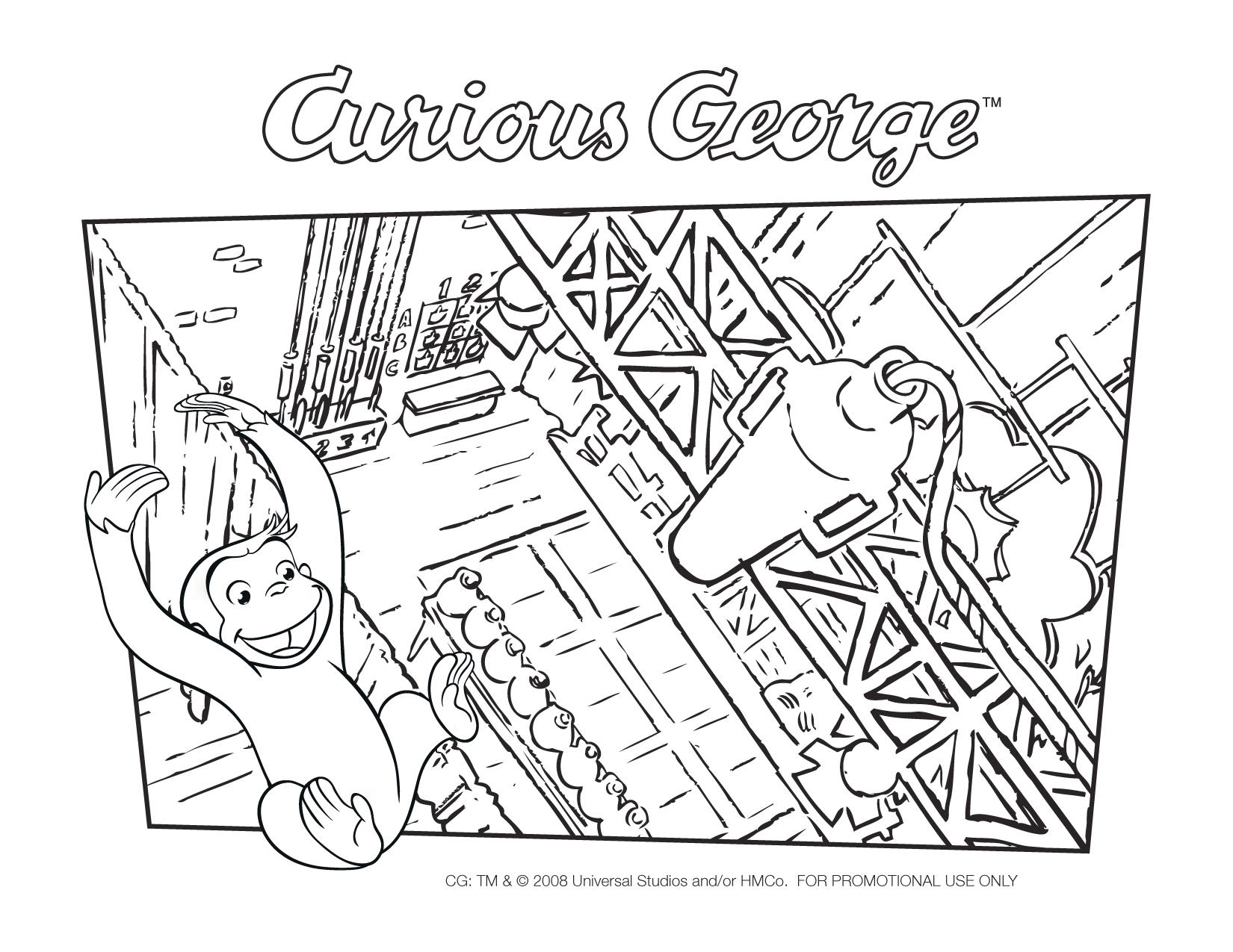Amazon Curious George Goes Green Frank Welker Jeff