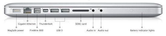 macbook pro 15 ports