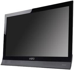 Front view of the VIZIO M190VA 19-inch 720p 60Hz LED LCD HDTV
