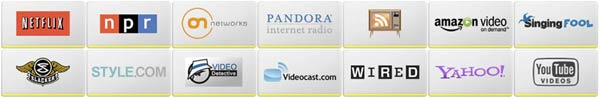 Sony Internet Apps Logos