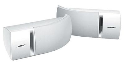 Bose 161 speakers in white