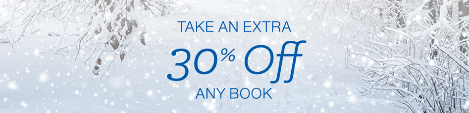 Holiday Deals in Books: Take an extra 30% off any book