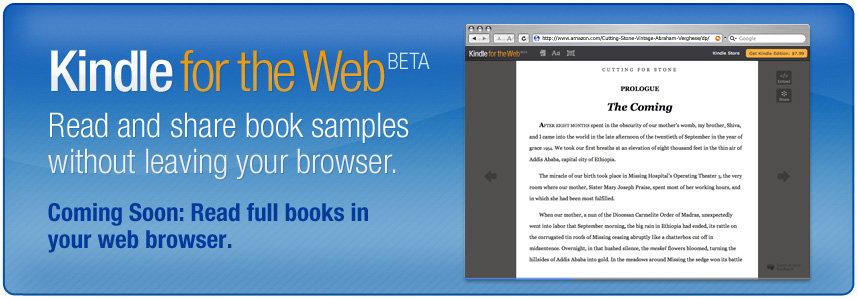 Kindle para la Web