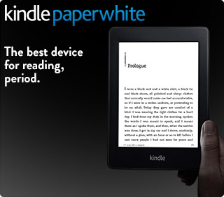 New Amazon Kindle Paperwhite E-ink Reader