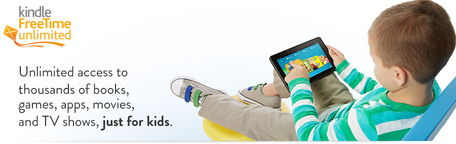 Kindle Free Time Unlimited for Kids Subscription