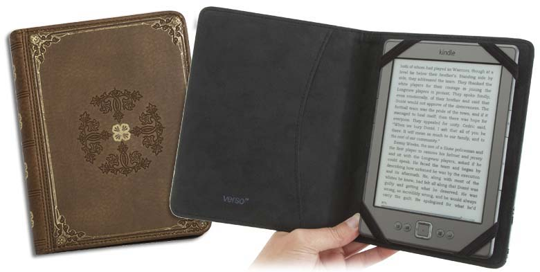 will only fit Kindle Fire HD 8.9 Antique Tan Verso Prologue Standing Cover for Kindle Fire HD 8.9