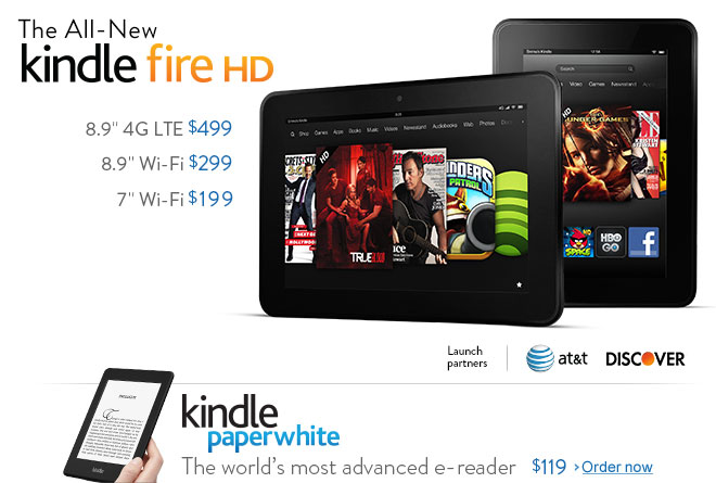 The All-New Kindle Fire HD