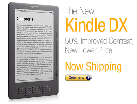 The New Kindle DX