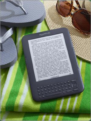 Amazon Kindle (via Amazon website)