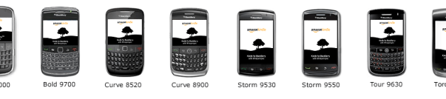 Compatible BlackBerry Devices