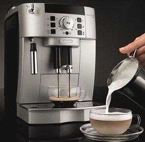B005MMN4DG action 300 - DeLonghi ECAM22110SB Compact Automatic Cappuccino, Latte and Espresso Machine