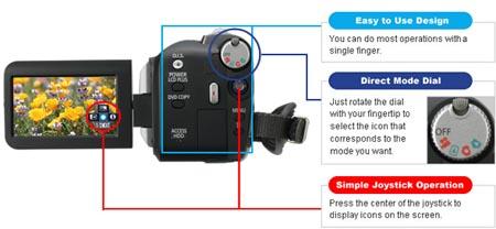 Panasonic SDR-H40 40GB Hard Drive Camcorder   Panasonic