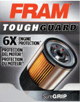 FRAM Tough Guard oil filter box front