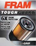 FRAM Tough Guard oil filter box front