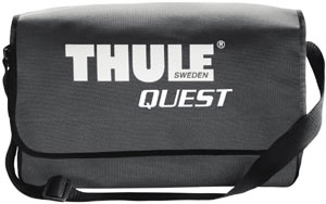 Shoulder style storage bag included with the Thule Quest Rooftop Cargo Bag