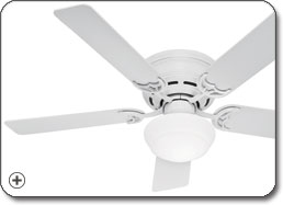 Hunter 20810 Low Profile lll Plus Ceiling Fan