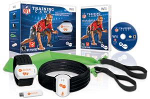 EA Sports Active NFL Training Camp box contents
