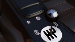Gear shift nob in 'Midnight Club: Los Angeles'