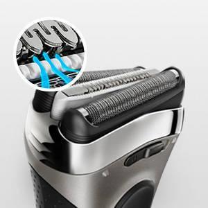 Braun 3040s Series 3 - elektrischer Rasierer Wet and Dry MicroComb Technologie