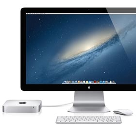 Apple MD387D/A Mac mini Desktop-PC (Intel Core i5, 2,5GHz, 4GB RAM, 500GB HDD, Mac OS)