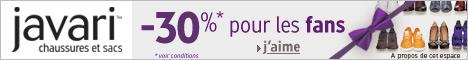 30% sur Javari.fr