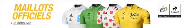 Galerie Amazon - Maillots du Tour de France 2015