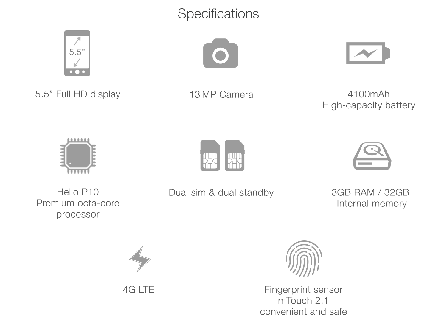 meizu tech specification