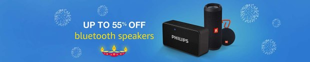 Bluetooth speaker up to 55% off