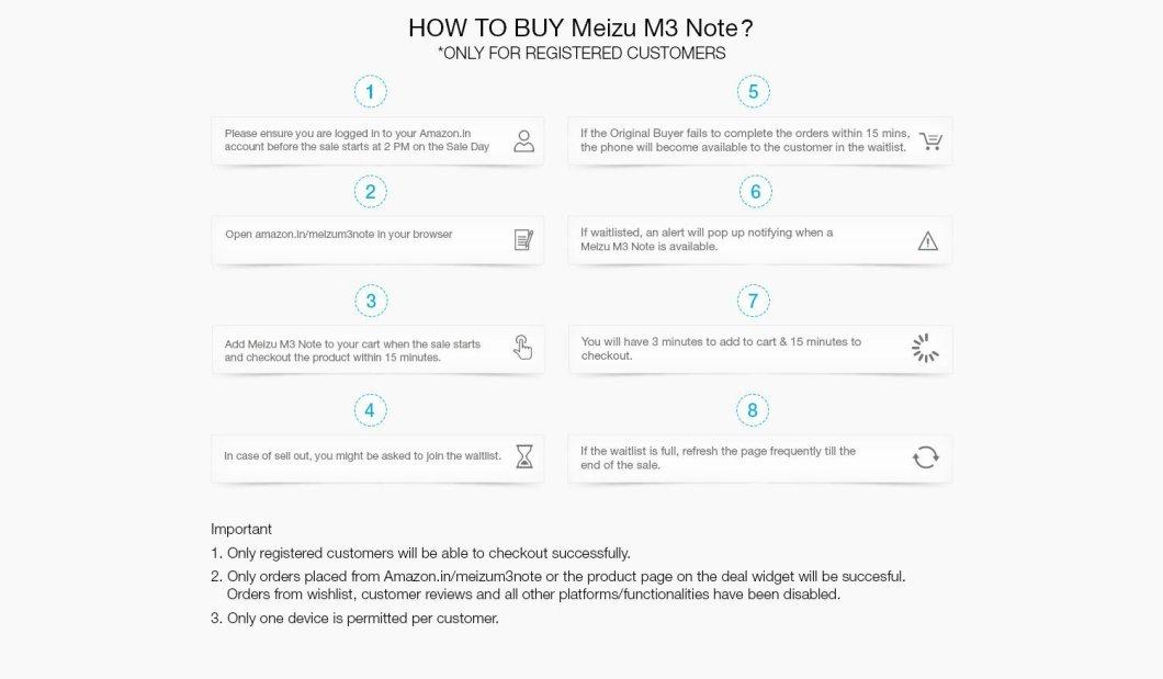 script how to buy meizu m3 note