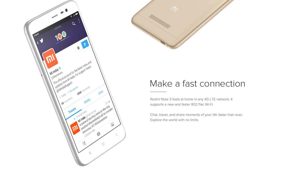 Redmi 4G LTE