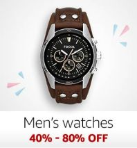Men's Watches 40%-80% off