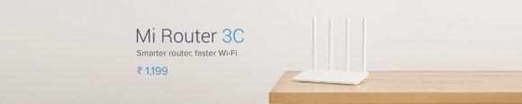 Mi Router 3C. Smarter router, faster Wi-Fi