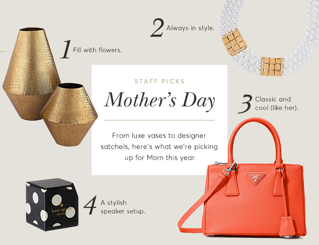 Staff Picks: Mother's Day