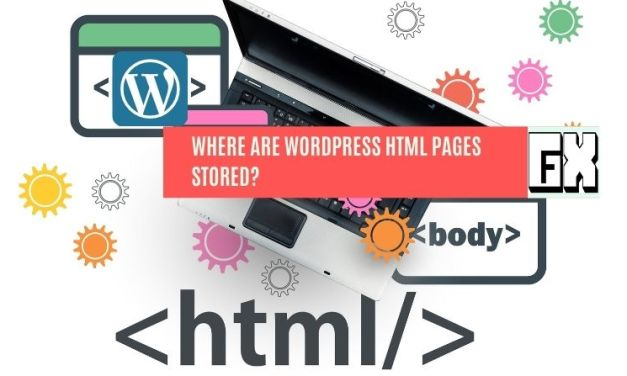 Where Are WordPress HTML Pages Stored