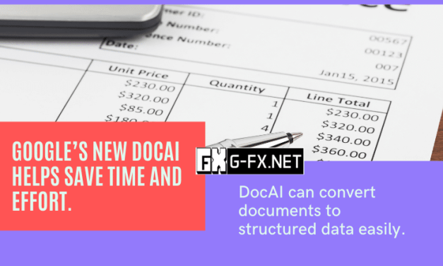 Google's new DocAI helps save time and effort.