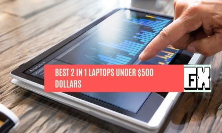 Best 2 in 1 Laptops Under 500 Dollars