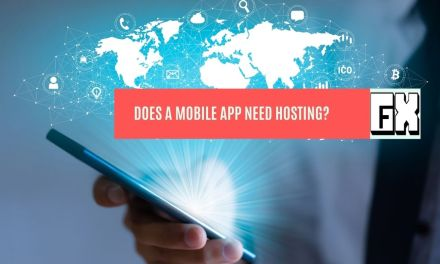 does a mobile app need hosting